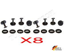 8 x Fußmatten Befestigung passend für BMW E32 E34 E39 E46 E60 E61 E87 E81 X5
