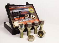 Set of 4 x TRILOCK Locking Bolts M12 x 1.5 (Silver)