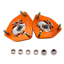 Front Coilover Camber Plates For Nissan S13 S14 180SX 200SX 240SX Caster Kit
