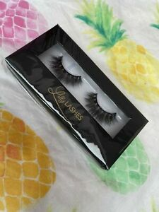 New Boxed Lily Lashes - Mykonos 3D Mink Lashes Rrp £30 Upto 25 Wears