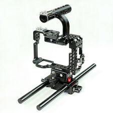 Flyfilms Cage With Baseplate Top Handle For Sony A7S with Camera Lens Support
