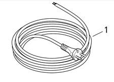 Sebo Zuleitung Anschlussleitung Kabel Netzkabel 5260dg für XP1 XP2 XP3 G1 G2