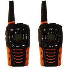 Incomplete Cobra Acxt645 Walkie-Talkie 2 Way Radios - Black Orange