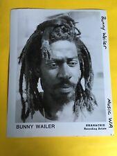 Bunny Wailer Press Photo 8x10, Shanachie.