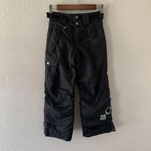 Columbia Kid's Black Bugaboo Waterproof Ski Pants Size 8