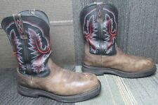 Mens ARIAT Workhog XT Waterproof Carbon Toe Leather Work Boots sz 13 EE