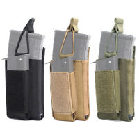 1000D Tactical Molle Magazine Pouch 5.56 9mm Rifle Pistol Mag Bag Holder Hunting