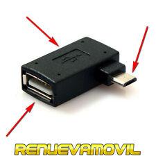 Adaptador Universal Micro USB OTG con Alimentación USB Movil PlayStation Classic