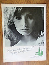 1965 Emeraude Parfum  de Coty Ad  Try Being More of a Woman