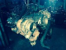 BMW E30 motor 3.5L turbo  1989 400PS Haltech and Garrett complet