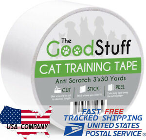 Cat Training Tape - Cat Scratch Tape Furniture Protectors Sticky Tape Deterrent