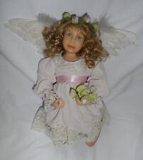 """New listing """"Enchantment"""" Resin Collectible Angel Doll – Diane Keeler"""