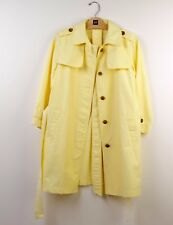 Gap Three-quarter Sleeves Trench Coat in Yellow: Size M *NEW*