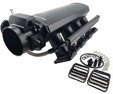 LS1-LS2-LS6-4-8L-5-3L-5-7L-6-0L-Custom-Aluminum-INTAKE-MANIFOLD-Kit-Camaro-GTO