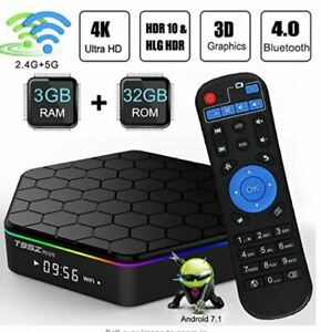 T95Z Plus Android TV Box 3GB RAM/32GB ROM Android 7.1 Octa Core Amlogic S912 TV