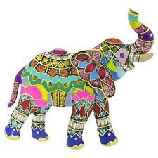 New $190 Heidi Daus Massive HAPPY ELEPHANT Enamel Crystal Brooch Pin