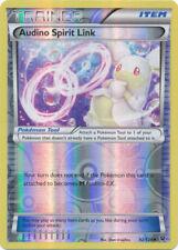 Pokemon TRAINER AUDINO SPIRIT LINK 92/124 UNCOMMON REVERSE HOLOFOIL NM CARD