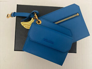 Prada Saffiano Mini Case Trick With Banana Charm, NIB, Retail $575
