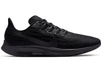 NIKE AIR ZOOM PEGASUS 36 Running Trainers Gym Shoes - UK Size 8.5 (EUR 43) Black