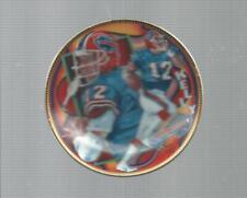 JIM KELLY Sports Impressions  mini Plate Buffalo Bills Hallof Fame
