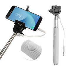 Long Monopod Wired Selfie Stick Telescopic Holder Phone For Samsung Galaxy S8 S9