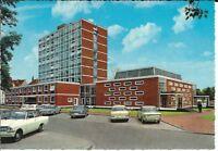 Ansichtskarte Postkarte Peine - Neues Rathaus mit Autos - Verlag Walter Braune