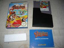 Nintendo NES - TALE SPIN TALESPIN - PAL A Versione Italiana GIG Ottimo ITA ++