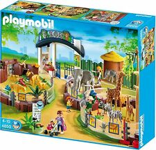 PLAYMOBIL 4850 Large Zoo with Entrance  New Sealed HTF