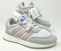 Adidas Originals I-5923 W White/Ice Pink Womens Boost Lifestyle Shoes SZ D97348