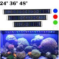 "LED Aquarium Light Multi-Color Full Spectrum Plant Fish Tank Marine 24"" 36"" 48"""