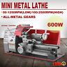 180 Mini Drehmaschine Metalldrehmaschine Leitspindeldrehmaschine Metalldrehbank