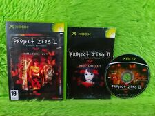 xbox PROJECT ZERO II 2 Crimson Butterfly Director's Cut PAL UK