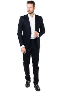 RRP €400 MANUEL RITZ Suit Size 52 / XL Textured Single Breasted Notch Lapel