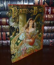 Beauty  and the Beast Illustrated by K.Y. Craft New Large Hardcover 2 Day Ship