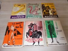 Lot de 6 livres collection roitelet ( 103, 104, 106, 114, 115 et 116 )