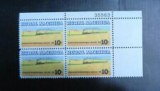 US Postage Stamps .10 cents, plate-block, rural america