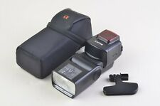 EXC++ SONY HVL-F58AM SHOE MOUNT FLASH w/STAND AND CASE