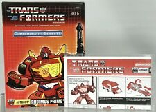 Transformers Commemorative Rodimus Prime G1 Reissue TRU Exclusive Rare BOX ONLY