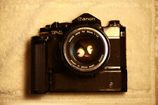 CANON F-1 Body with Motor and a CANON FL 55mm f1.2 Lens.