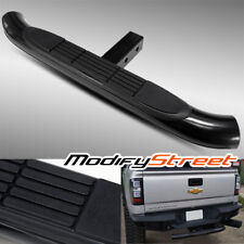 "30""/3"" TUBE BLACK HITCH STEP/REAR BUMPER GUARD for 2"" CLASS 3 TRAILER RECEIVER"