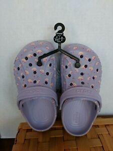 New Crocs Baya Flamingos Clogs/Water ShoesToddler Seasonal Slip-on Size-j2