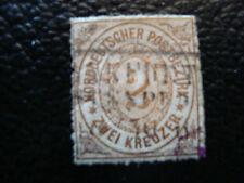 ALLEMAGNE (confederation de l allemgne du nord) timbre yt n°8(2emechoix obl(A4)
