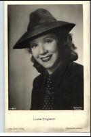 LUCI ENGLISCH Schauspielerin ca. 1930/40 Porträt-AK Film Bühne Theater Postkarte