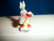 BUGS BUNNY in Space Suit Mini Figurine STAR WARnerS Porcelain FEVES LOONEY TUNES