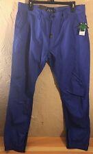 New Lrg Pants True Tapered Fit B145003 Men's Blue Size 42