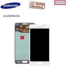 Ecran Complet vitre tactile + lcd Blanc Samsung Galaxy A3 A300F ORIGINAL