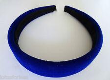 Soft Feel Padded Velvet Wide Headband Hair Band Alice Band 2.5 cms Width