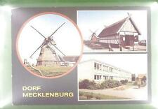 CPA Germany Mecklenburg Windmill Moulin a Vent Windmühle Wiatrak Folklore w27