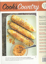 Cook's Country Magazine Recipe Cards June/July 2015 Grilled Corn Coconut Pie