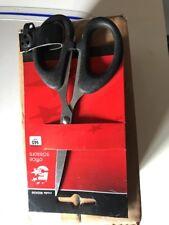 12 packs x 5 Star Office Scissors 140mm ABS Handles Black